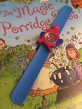 Reloj de Pulsera Calidad Spiderman Chicas Chicos Niños Correa fácil Azul bofetada QY Spider Man