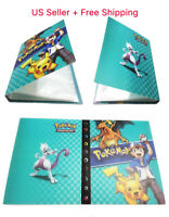 NEW  Pokemon Card Binder Portfolio Pocket Album Card  Portfolio Holder 240 Cards