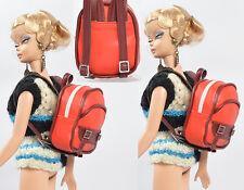 "Red Doll Bag 12-16""Tonner Antoinette Fashion Royalty/Fr2 Silkstone Barbie 19Bag6"