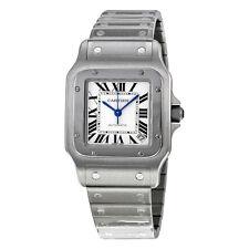 Cartier Santos Galbee Steel Mens Watch W20098D6