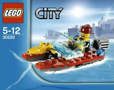 LEGO City #30220 - Fireman / Fire Speedboat - Collector 2013 - NEW - SEALED