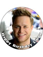 "Olly Murs Personalised 7.5"" Edible Cake Topper"