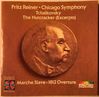 TCHAIKOVSKY THE NUTCRACKER (EXCERPTS) FRITZ REINER CHICAGO SYMPHONY CD RCA 1986