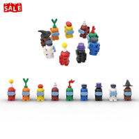 9 PCS Minifigures Among Us Figures Toys Imposter Building Blocks Gifts for Kids