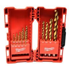 Milwaukee Tool 14 Pc Titanium Drill Bit Set For Wood Metal and PVC (GO1042031)