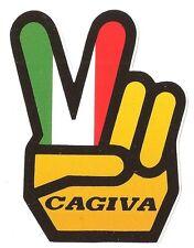 """CAGIVA  """" love """" Sticker"""