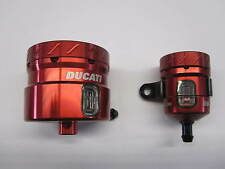 Ducati Multistrada 1200 frein d'embrayage réservoir de fluide en aluminium rouge