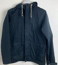 Nike Jacket, Navy blue Zip Up. Size S raincoat style, pull string hood.