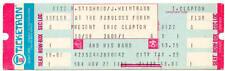 ERIC CLAPTON Unused Concert Ticket LA FORUM 1976