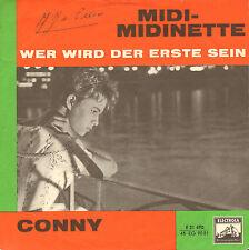 """CONNY – Midi-Midinette / Wer Wird Der Erste Sein (1960 VINYL SINGLE 7"""" + PS)"""