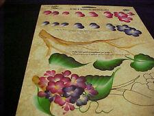 Donna Dewberry Onestroke  Reusable Teaching Guide Flower RTG Hydrangea