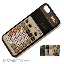 Vintage Fitted Hard Plastic Case for iPhone 5 - Calculator Design
