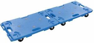 2 x Home DIY General Dolly Trolley Interlocking Platform Wheels 100kg Capacity