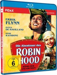 Die Abenteuer des Robin Hood - König der Vagabunden [Blu-ray/NEU/OVP]Errol Flynn