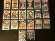 2019 Topps Garbage Pail Kids We Hate the Holidays Demand 20 Snowflake Card Set