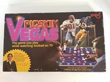 Jokari Pigskin Vegas Jimmy The Greek Board Game Football 1980 Used Complete