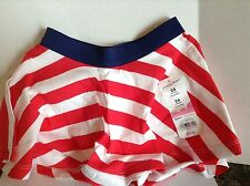 New Jumping Beans Scooter Skirt Size 24 Months Red White & Blue
