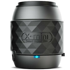 NEW XMI X-MINI WE WIRELESS BLUETOOTH PORTABLE THUMB SIZE SPEAKER - BLACK