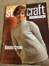 Stitchcraft Magazine April 1966 Swiss Design Fashion