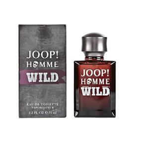 JOOP! HOMME WILD EAU DE TOILETTE EDT 75ML SPRAY - MEN'S FOR HIM. NEW