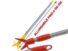 Asta Appendiabiti per Armadio estensibile fino a cm. 150 bastone con manico