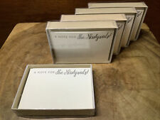 A Note For The Newlyweds! (50 Wedding Cards)