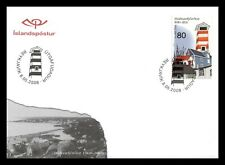 Iceland 2008 FDC, 100th. Anniversary of Hafnarfjörður, Lot # 1.