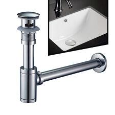 Design Siphon Geruchsverschluss für Waschbecken Waschtisch Ablauf Sifon Syphon