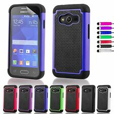 Shockproof Case Cover for Samsung Galaxy Ace 4 + Screen Protector & Stylus