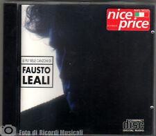 FAUSTO LEALI- LE PIU' BELLE CANZONI DI Anno 1993 CD MINT