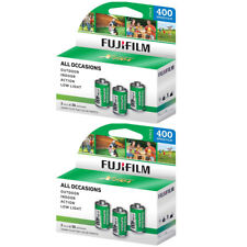6 Rolls Fuji Superia (3 Pack) X-Tra 400 36 Exp. 35mm Color Film, 216 Exp Fresh