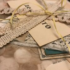 Junk Journal ivory ephemera text & textiles » 1800s to modern curated items
