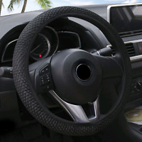 Summer Cool Elastic Car Auto Steering Wheel Cover Non Slip 38cm Hand Made 1PCS
