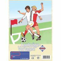 PEBARO Laubsägevorlage Fußball