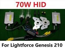 70W HID Conversion Kit for Lightforce Genesis 210 New Model Off Road Light 6000K