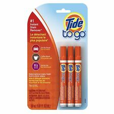 Tide To Go Instant Stain Remover Pen, 3 ea
