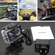 Motorcycle black Waterproof Sports Camera Action Mini Helmet DV Driving Recorder