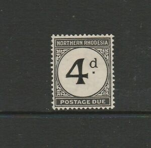 Northern Rhodesia 1929/52 Postage dues 4d MM SG D4