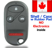 1x New Replacement Keyless Remote Key Fob For Honda Accord & Acura - Shell Only