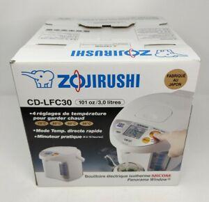 Zojirushi CD-LFC30 Panorama Window Micom Water Boiler and Warmer, 101 oz/3.0 L M