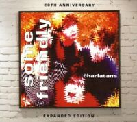 THE CHARLATANS - SOME FRIENDLY-20TH ANNIVERSARY EXPANDED EDITION 2 CD NEU