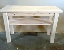 Pine Handmade No Assembly Required Kitchen & Dining Tables