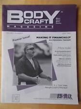 Rare BODY CRAFT bodybuilding muscle fitness ISSA magazine/PREMIERE ISSUE 6-95