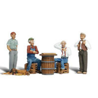 Woodland Scenics Accents A1848 Figures - Checker Players- Pkg (8) HO Scale