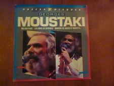 """VINYL LP by GEORGES MOUSTAKI """"SUCCES 2 DISQUES"""""""