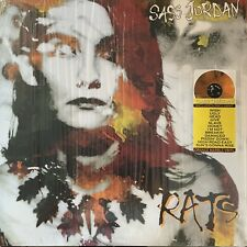 "SASS JORDAN ""Rats"" LP LIMITED EDITION RARE COLORED VINYL HARD ROCK AOR METAL"