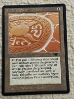 Tablet of Epityr EX Antiquities 1994 Mtg Magic the Gathering Christopher Rush