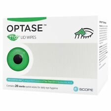 Optase Tea Tree Oil Lid Wipes - Pack of 20