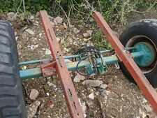 8 STUD FAST TOW BRAKED AXLE WITH HYDRAULIC BRAKES - WHEELS NOT INCLUDED