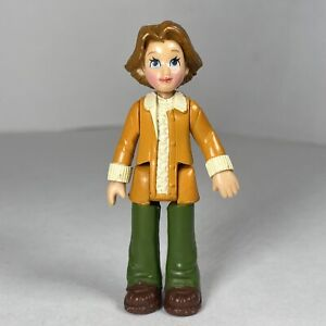 Fisher Price Sweet Streets Dollhouse Go Anywhere Girl Mom Doll Figure Mother